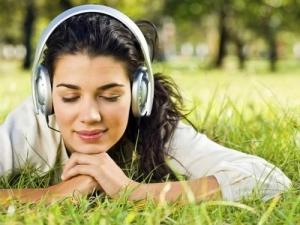 ouvindo musica